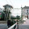 Het oude station van Abcoude aan de lijn Amsterdam-Utrecht