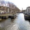 De historische Weerdsluis in de Vecht te Utrecht