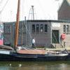 De oude vissershaven van Spakenburg