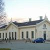 Het originele station Staatsspoor van Houten