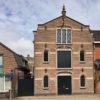 Kaaspakhuis firma Blok en pakhuis De Wit te Woerden